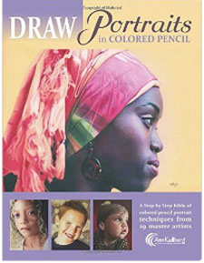 Draw Portraits in Colored Pencil