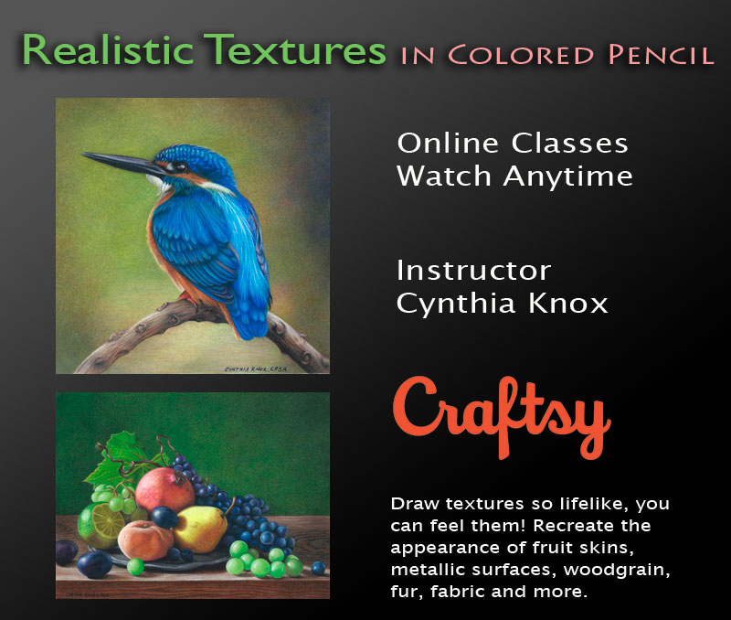 Realistic Textures in Colored Pencil
