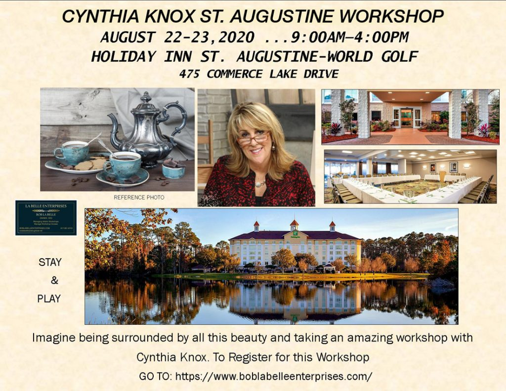 Knox Workshop - St. Augustine