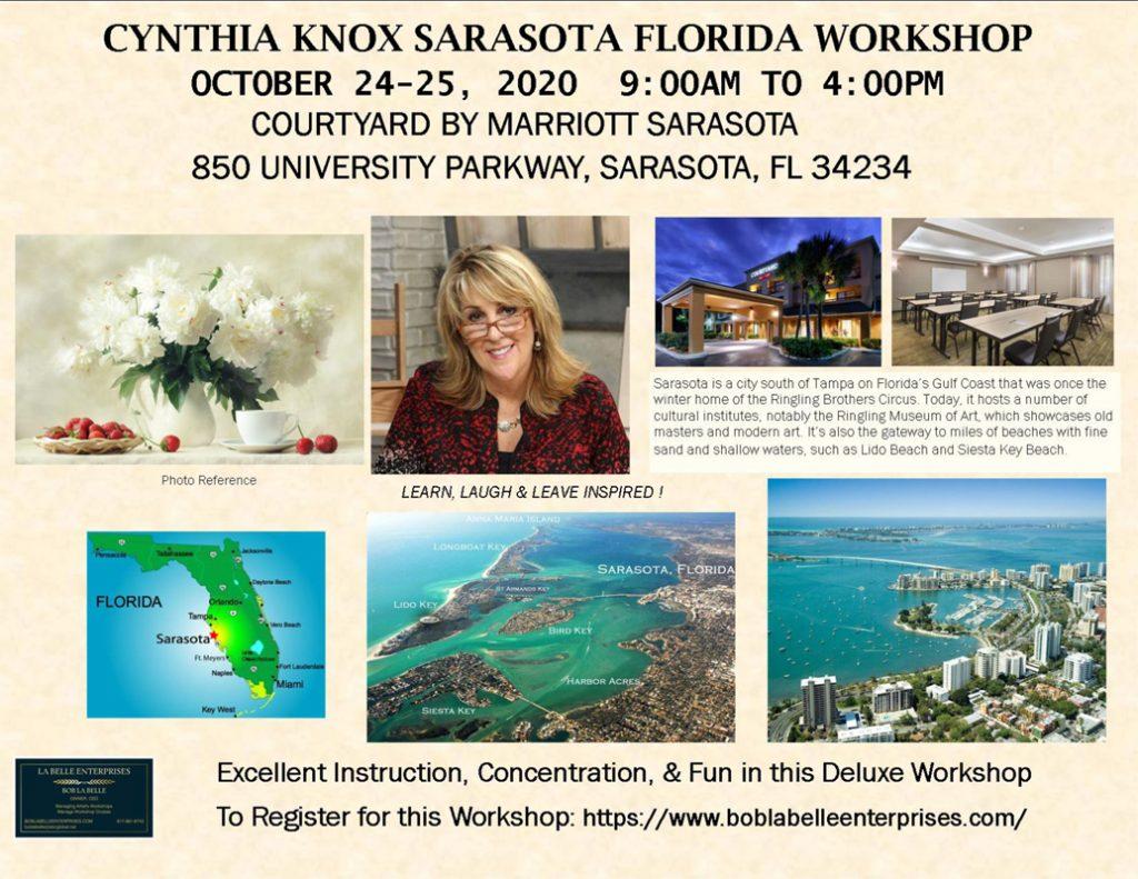 Cynthia Knox Workshop in Sarasota, FL