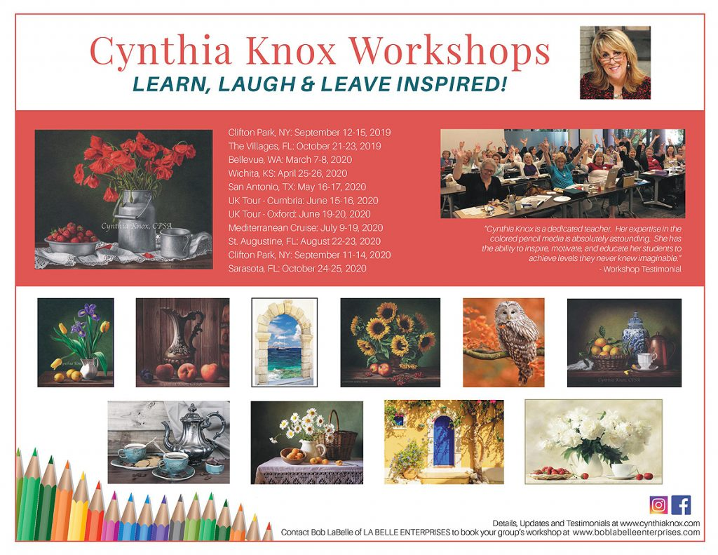 Cynthia Knox Workshops 2019-2020