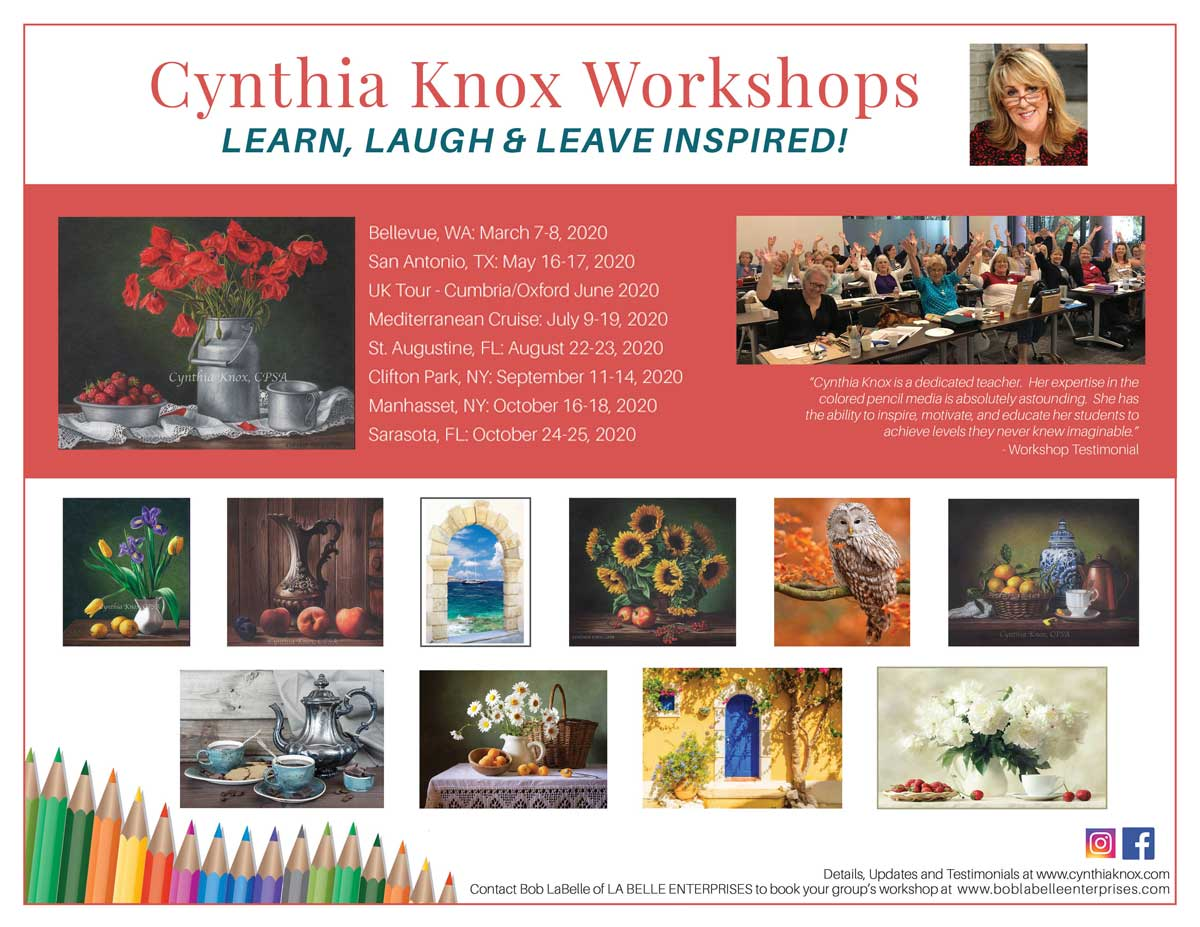 Cynthia Knox Workshops by Bob LaBelle Enterprises