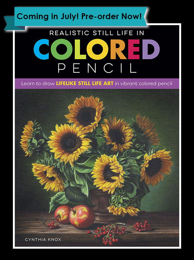New Colored Pencil Book by Cynthia Knox